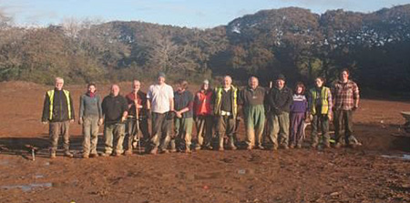 Tregurra Archaeology Team from Cornwall Archaeological Unit